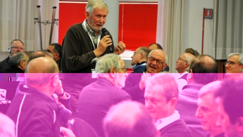 """""""Intensifying cooperation among religious institutes"""", says Fr. Jöhri"""