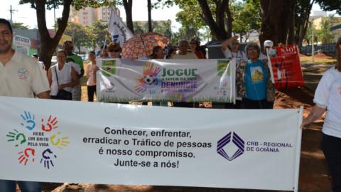 CRB na TV: Passeata em Brasília, denuncia o Tráfico de Pessoas durante a Copa