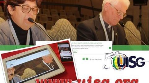 Il nuovo sito della UISG: la scommessa della comunicazione