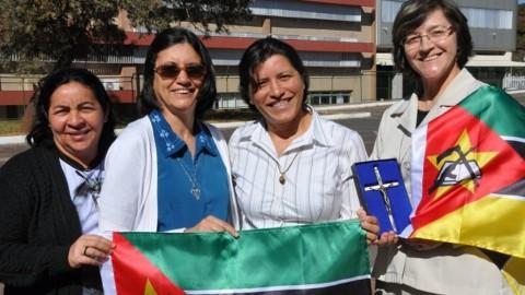 Missionárias brasileiras são enviadas a Moçambique
