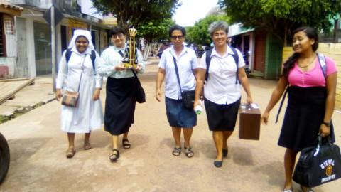 Nossa Senhora Aparecida peregrina pelos núcleos da Regional Pará