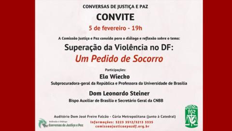 Conversas de Justiça e Paz – Participe!
