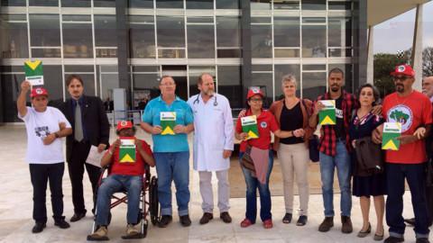 Solidariedade do Presidente da Conferência da Família Franciscana do Brasil