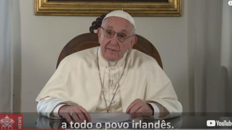 Papa faz saudação ao povo irlandês