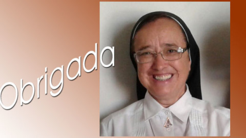 Irmã Maria Inês, presidente da CRB, fala da sua experiência e agradece a Deus e a todos