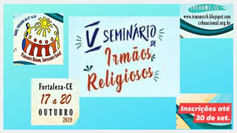 Convite para o V Seminário de Irmãos