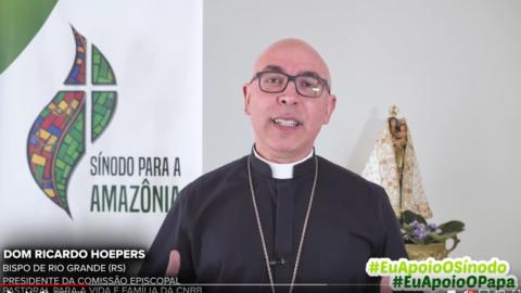 Eu Apoio o Sínodo – Eu apoio o Papa | Dom Ricardo Hoepers