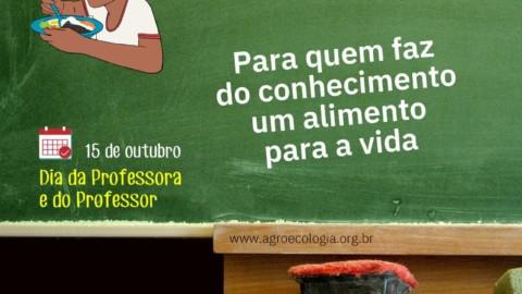 DIA DA PROFESSORA E DO PROFESSOR ¦
