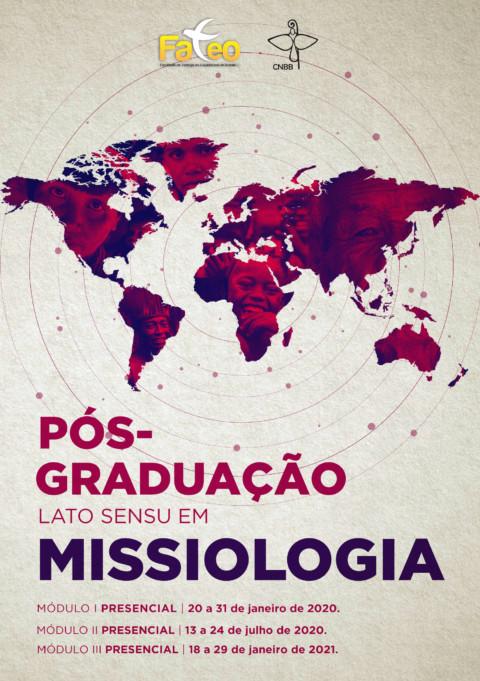Missiologia – Pós-graduação lato sensu